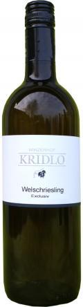 Welschriesling Exclusiv Qualitätswein 2014 / Kridlo