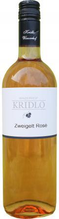 Zweigelt Rosé Qualitätswein 2014 / Kridlo