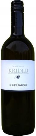 Blauer Zweigelt Qualitätswein 2013 / Kridlo