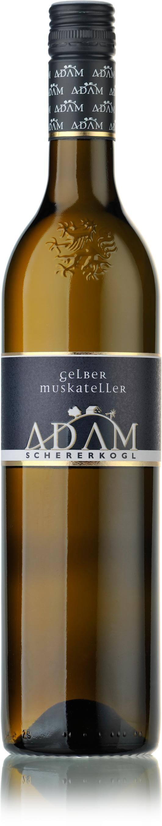 Gelber Muskateller Südsteiermark DAC 2020 / Adam-Schererkogl