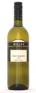 Grauer Burgunder  2013 / Walek