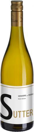 Grüner Veltliner Weinviertel DAC Reserve 2017 / Sutter