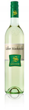 Gelber Muskateller Südsteiermark DAC 2018 / Sabathihof Dillinger