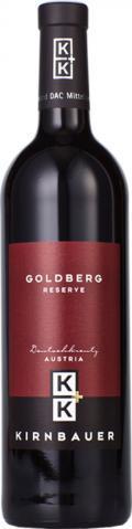Blaufränkisch Goldberg Reserve DAC 2010 / Kirnbauer K & K