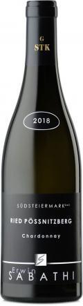 Chardonnay Ried Pössnitzberg Große STK  2018 / Sabathi Erwin