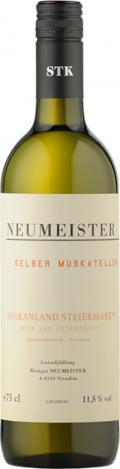 Gelber Muskateller  2018 / Neumeister