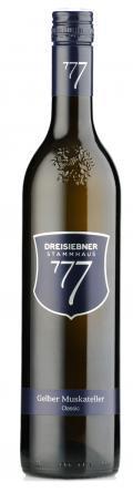 Gelber Muskateller Classic 2017 / Dreisiebner