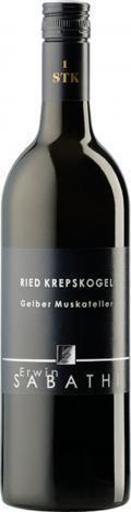 Gelber Muskateller Krepskogel Erste STK Lage 2017 / Sabathi Erwin
