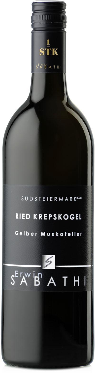 Gelber Muskateller Ried Krepskogel Erste STK 2019 / Sabathi Erwin