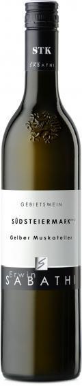 Gelber Muskateller Südsteiermark DAC 2018 / Sabathi Erwin