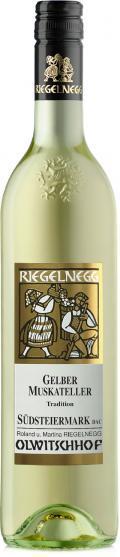 Gelber Muskateller Südsteiermark Tradition 2020 / Riegelnegg Olwitschhof
