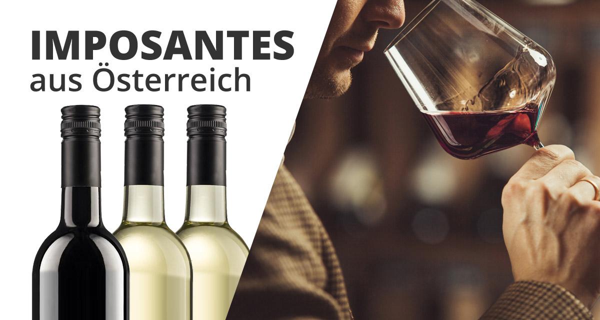"""3er Wein Geschenkset """"imposante Weine aus Österreich""""   /"""
