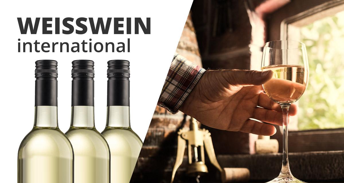 """3er Wein Geschenkset """"WEISS international""""   /"""