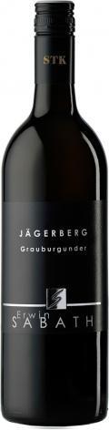 Grauburgunder Jägerberg Erste STK Lage 2018 / Sabathi Erwin