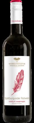 Spätburgunder Glücksfeder Spätburgunder Rotwein 2016 / Weinmanufaktur Gengenbach-Offenburg