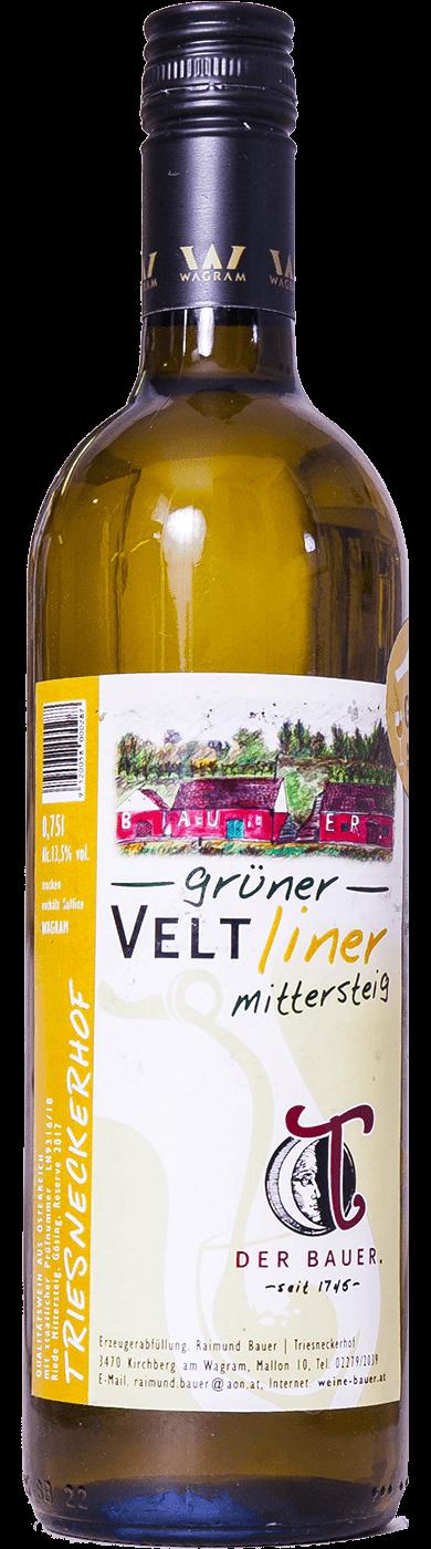 Grüner Veltliner Mittersteig 2018 / Raimund Bauer - Triesneckerhof