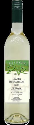 Gelber Muskateller  2018 / Zitz