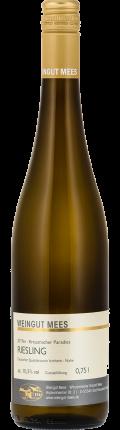 Riesling feinherb süss Qualitätswein QbA Kreuznacher Paradies Weißwein 2017 / Mees