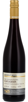 Portugieser Rotwein lieblich süss Qualitätswein QbA Kreuznacher Rosenberg  2016 / Mees