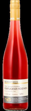 Portugieser Roséwein feinherb süss Qualitätswein QbA Kreuznacher Rosenberg 2018 / Mees