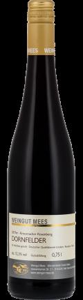 Dornfelder Rotwein trocken Qualitätswein QbA Kreuznacher Rosenberg  2017 / Mees