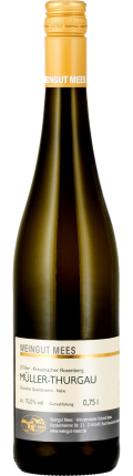 Müller Thurgau lieblich süss Qualitätswein QbA Weißwein 2018 / Mees