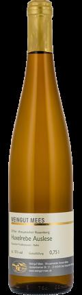 Huxelrebe Auslese edelsüß süss Kreuznacher Rosenberg Weißwein 2015 / Mees