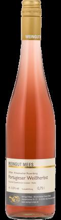 Portugieser Weißherbst Rosé Qualitätswein QbA trocken Kreuznacher Rosenberg 2016 / Mees