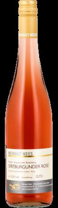 Spätburgunder Roséwein trocken Qualitätswein QbA Kreuznacher Rosenberg  2018 / Mees