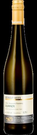 Silvaner trocken Qualitätswein QbA Kreuznacher Rosenberg Weißwein 2018 / Mees