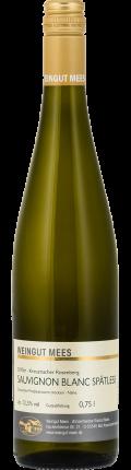 Sauvignon Blanc Spätlese trocken Kreuznacher Rosenberg Weißwein 2017 / Mees