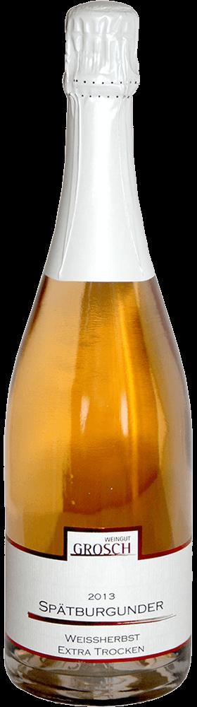 Spätburgunder extra trocken, Qualitätsschaumwein 2015 / Grosch