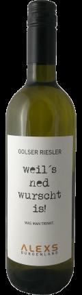 Cuvee GOLSER RIESLER 2018 / ALEXS