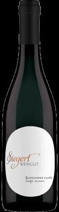 Cuvee Burgunder Cuvée | Große Reserve 2018 / Siegert