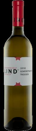 Gewürztraminer trocken 2016 / Weingut Ökonomierat Lind