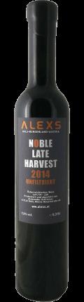 Blauer Zweigelt NOBLE LATE HARVEST 2014 / ALEXS