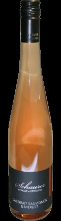 Cuvee Merlot & Cabernet Sauvignon Rosé trocken 2019 / Schaurer
