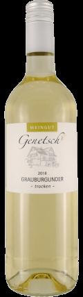 Grauburgunder trocken - auf Schieferboden gewachsen 2019 / Genetsch