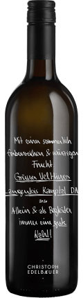 Grüner Veltliner LANGENLOIS Kamptal DAC 2020 / Christoph Edelbauer