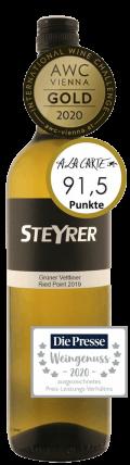 Grüner Veltliner Traisental DAC  Point 2019 / Weingut Steyrer