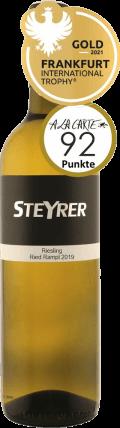 Riesling Traisental DAC  2019 / Weingut Steyrer