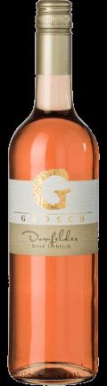 Dornfelder Rosé lieblich, Qualitätswein  2020 / Grosch