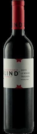 Cuvee LE ROUGE trocken   Mandelpfad 2019 / Weingut Ökonomierat Lind