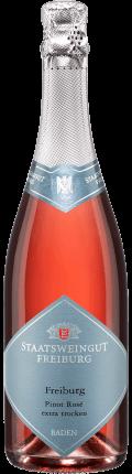 Sekt Freiburger Pinot Rosé . / Staatsweingut Freiburg