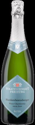 Sekt Blankenhornsberger Pinot Chardonnay extra brut . / Staatsweingut Freiburg