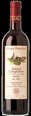 "Vernatsch Südtirol St. Magdalener classico ""alte Rebe"" DOC  2018 / Plonerhof"