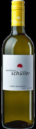 Gelber Muskateller Berliner Gold 2019 2018 / Weinhaus Schüller