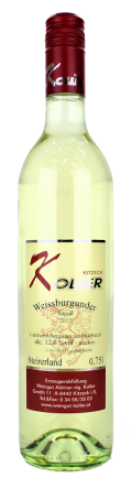 Weißburgunder Sausal 2017 / Koller