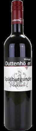 Spätburgunder  2016 / Duttenhöfer