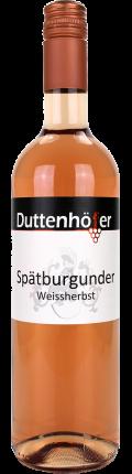 Spätburgunder Weißherbst 2017 / Duttenhöfer